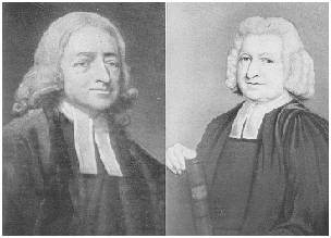 John Wesley and Charles Wesley (obtained from http://gbgm-umc.org/gifs/historical/)
